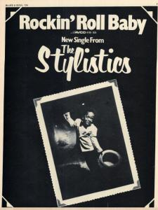 Stylistsic Baby Lp Ad Blues and Soul 7 December 1973.JPG